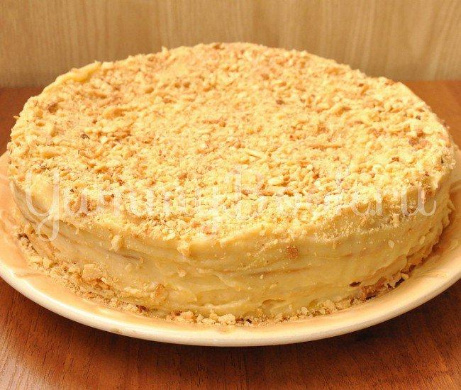 Торт напалеон и рецепт